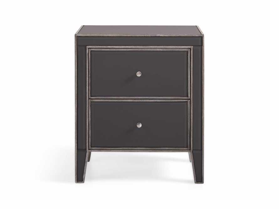 """Reese 24"""" 2 Drawer Nightstand in Galleria Grey, slide 2 of 8"""