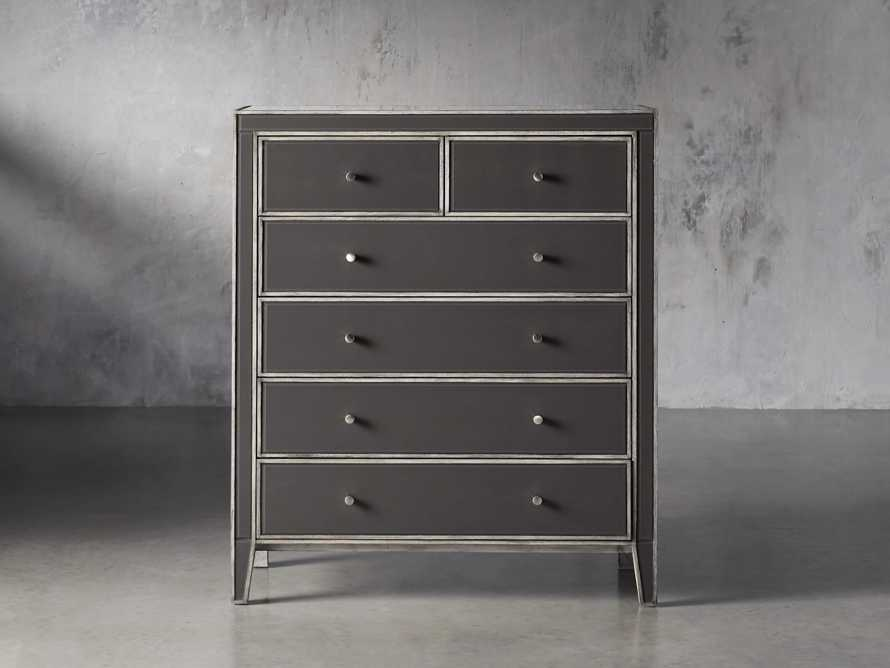 Reese Tall Dresser in Galleria Grey, slide 1 of 6