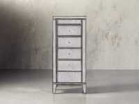 Reese Jewelry Cabinet in Antique Mirrored