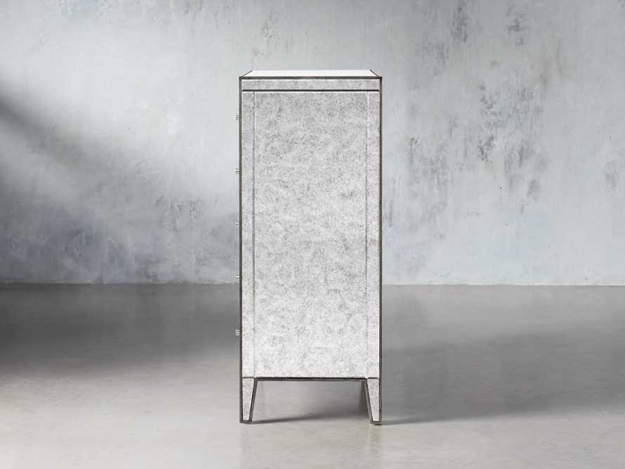 Reese Tall Dresser in Antique Mirrored, slide 4 of 7
