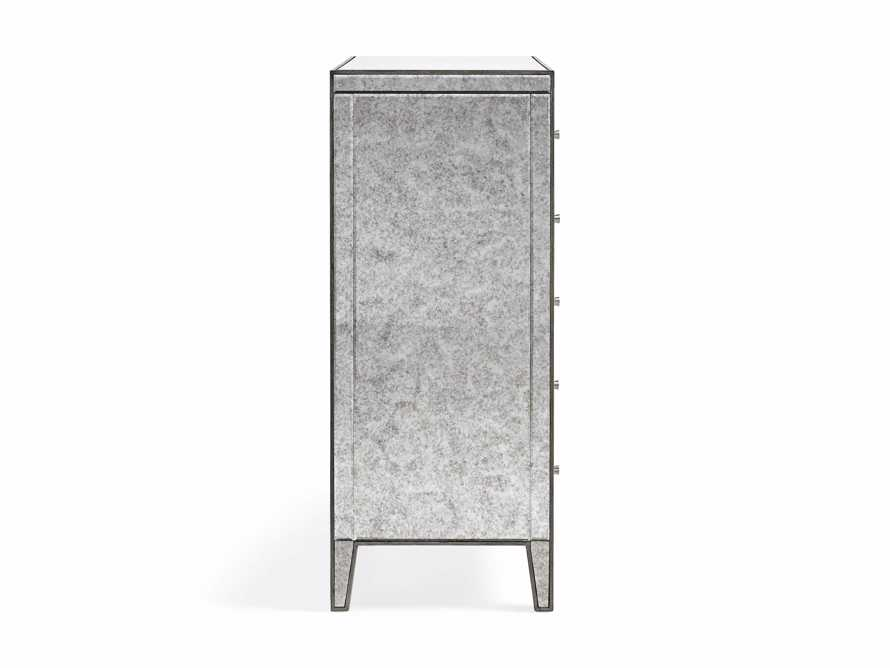 Reese Antique Mirrored Tall Chest, slide 7 of 7