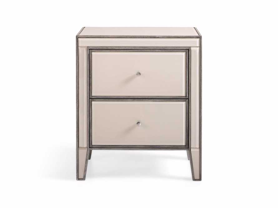 "Reese 24"" 2 Drawer Nightstand in Galleria Blush, slide 2 of 8"