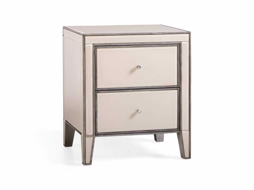 "Reese 24"" 2 Drawer Nightstand in Galleria Blush, slide 3 of 8"