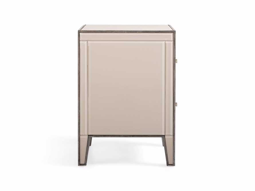 "Reese 24"" 2 Drawer Nightstand in Galleria Blush, slide 5 of 8"
