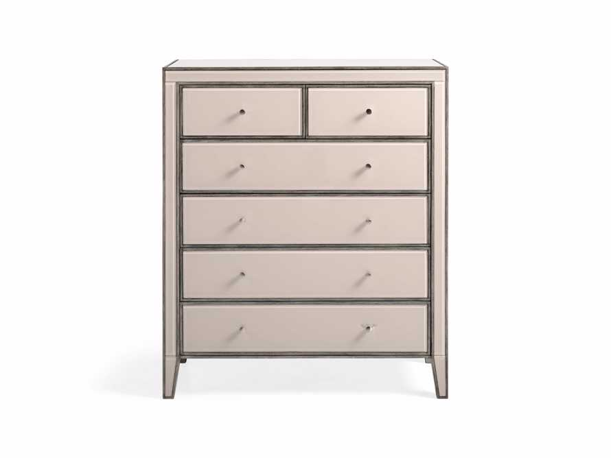 Reese Tall Dressers in Galleria Blush, slide 2 of 6