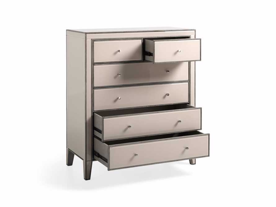 Reese Tall Dressers in Galleria Blush, slide 4 of 6