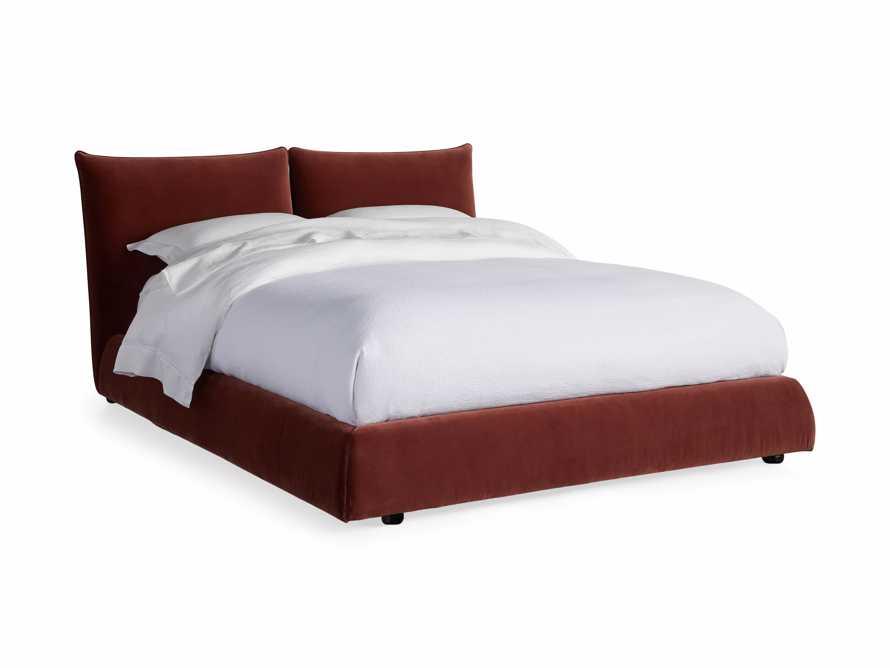 Rigby Queen Bed in Fallkirk Rust, slide 7 of 7