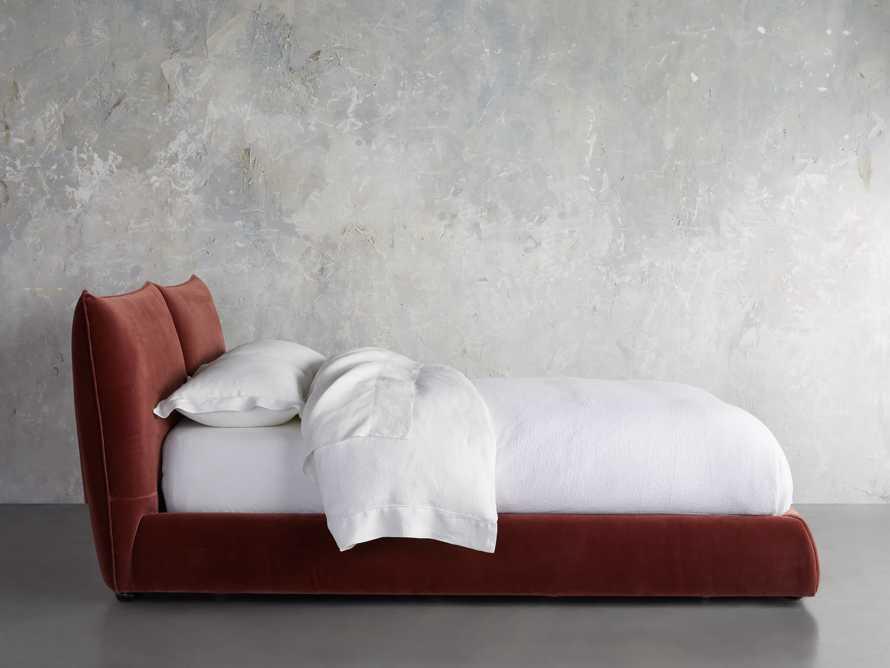 Rigby Queen Bed in Fallkirk Rust, slide 4 of 7