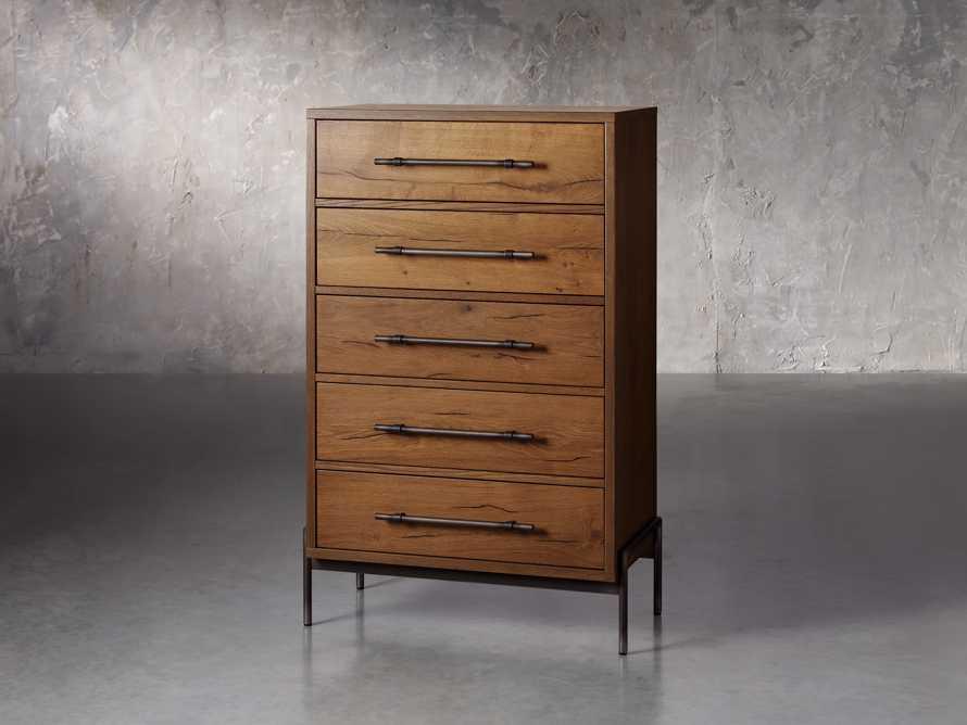 "Sullivan 33.75"" Tall Dresser in Northman Oak, slide 2 of 4"