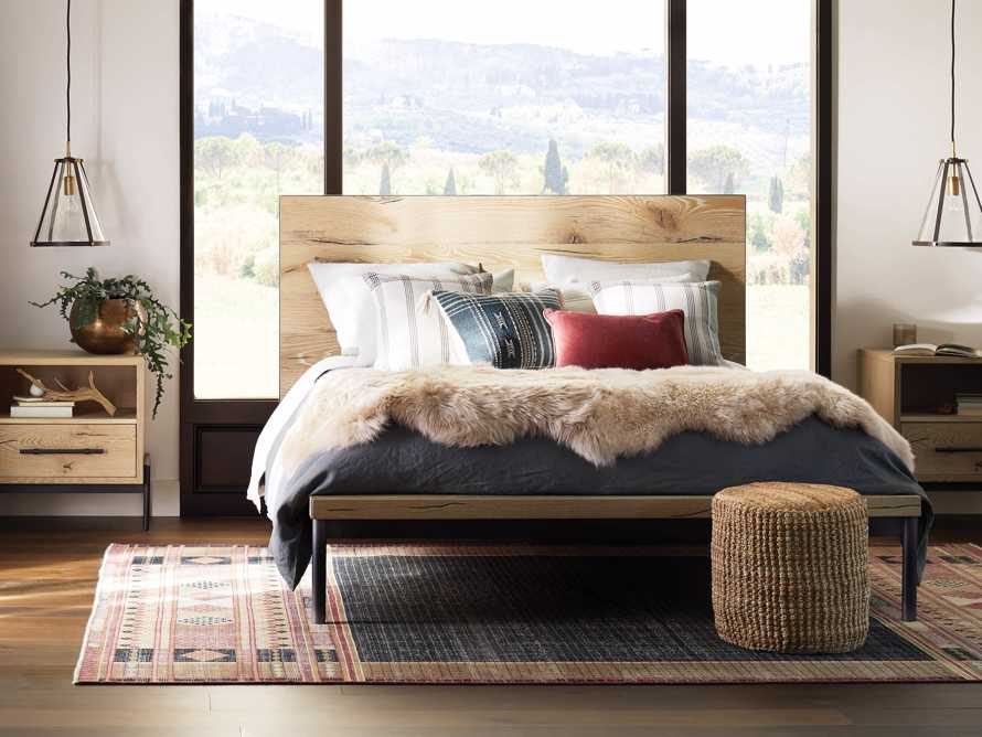 Sullivan Queen Bed in Northman Sable, slide 1 of 7