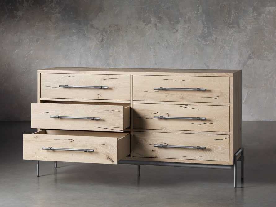 "Sullivan 65"" Wide Dresser in Northman Sable, slide 3 of 8"