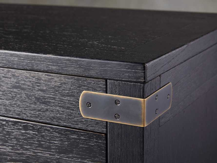 Tremont 3 Drawer Chest in Dry Branch Black, slide 6 of 8
