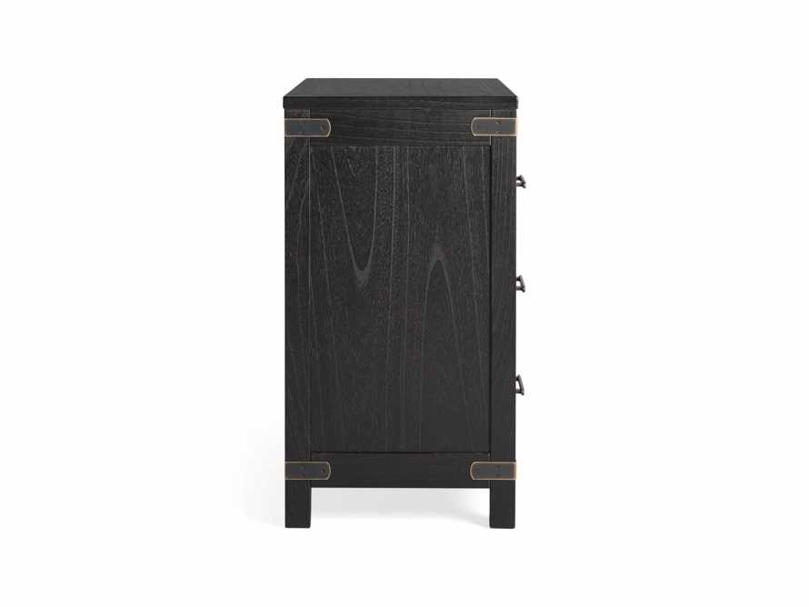Tremont 3 Drawer Chest in Dry Branch Black, slide 8 of 8