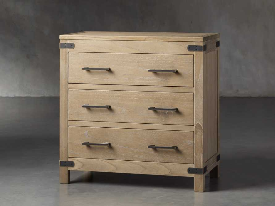 Tremont 3 Drawer Chest in Dry Branch Natural