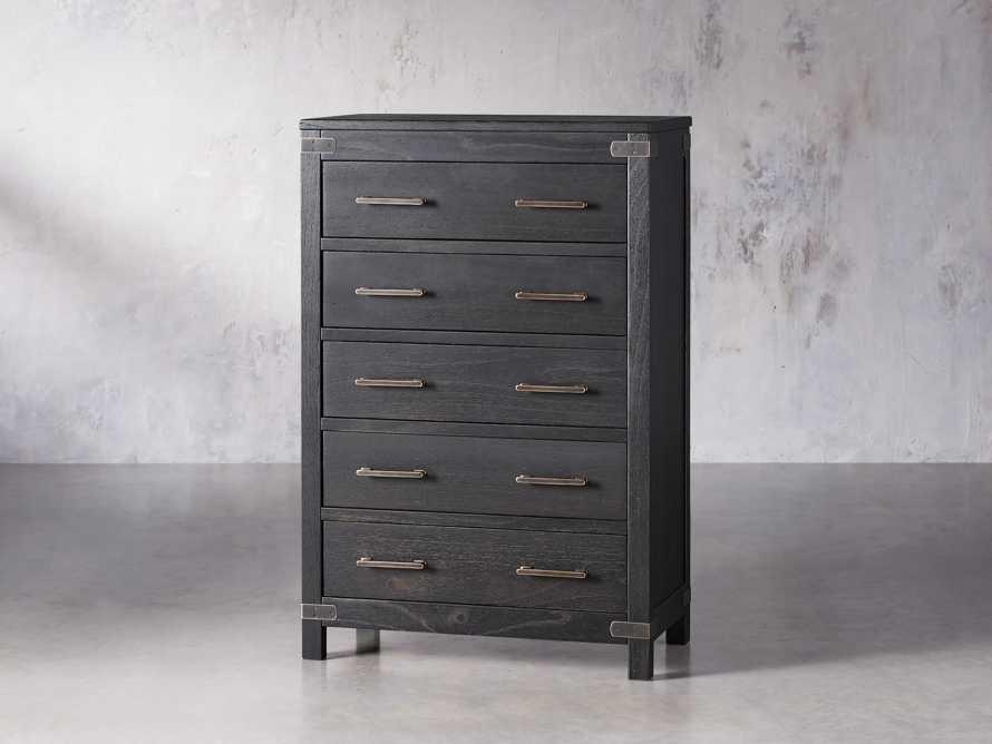Tremont 5 Drawer Dresser In Dry Branch Black, slide 2 of 6
