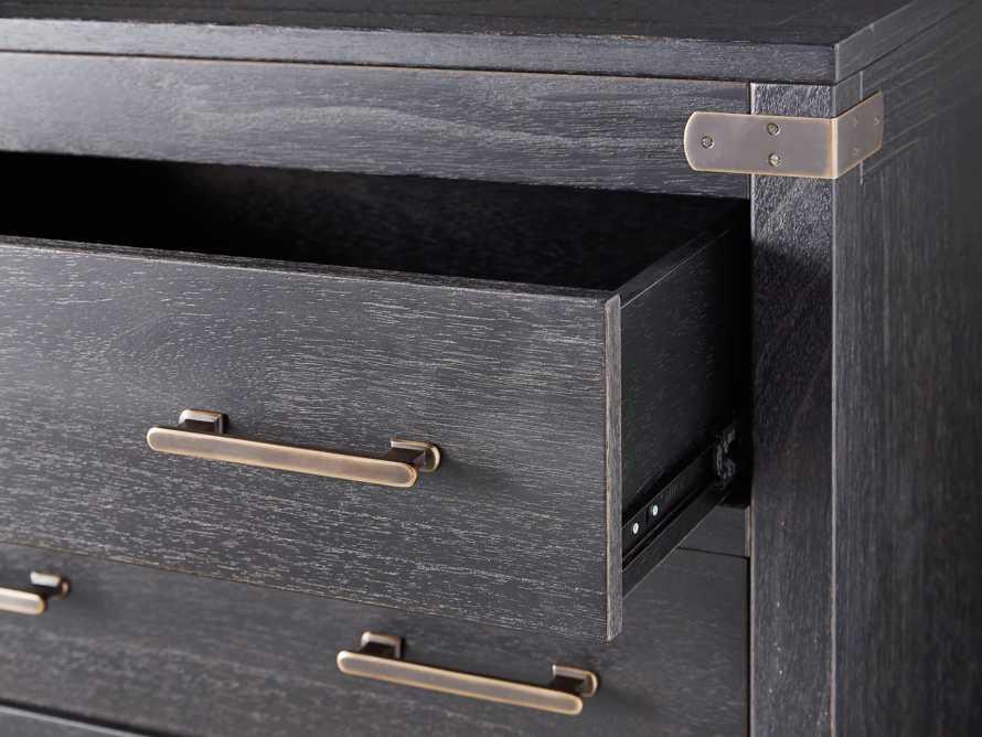 Tremont 5 Drawer Dresser In Dry Branch Black, slide 5 of 6