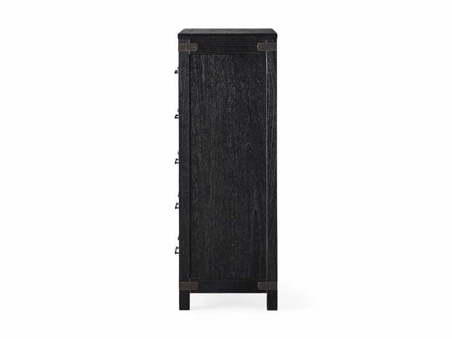 Tremont Five Drawer Dresser in Dry Branch Black, slide 7 of 7