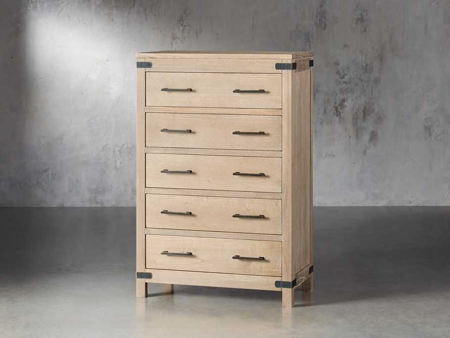 Tremont 5 Drawer Dresser In Dry Branch Natural