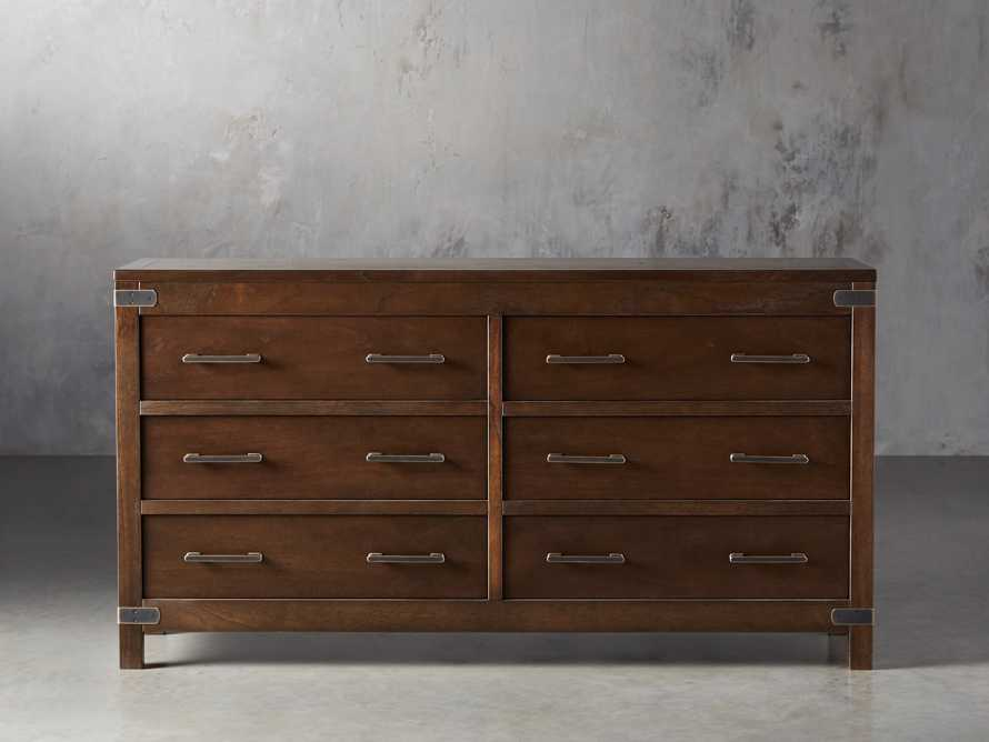 Tremont Six Drawer Dresser in Midnight Java, slide 1 of 7