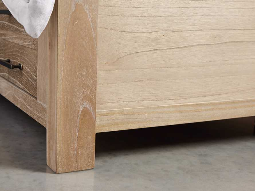 "Tremont 81"" King Storage Bed in Dry Branch Natural"