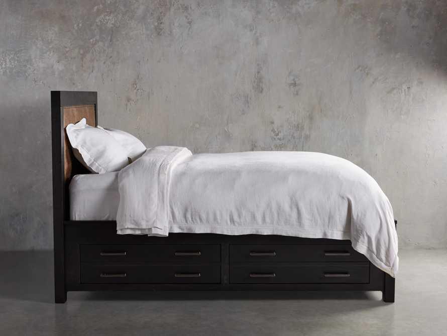 Tremont Queen Storage Bed in Dry Branch Black, slide 4 of 10