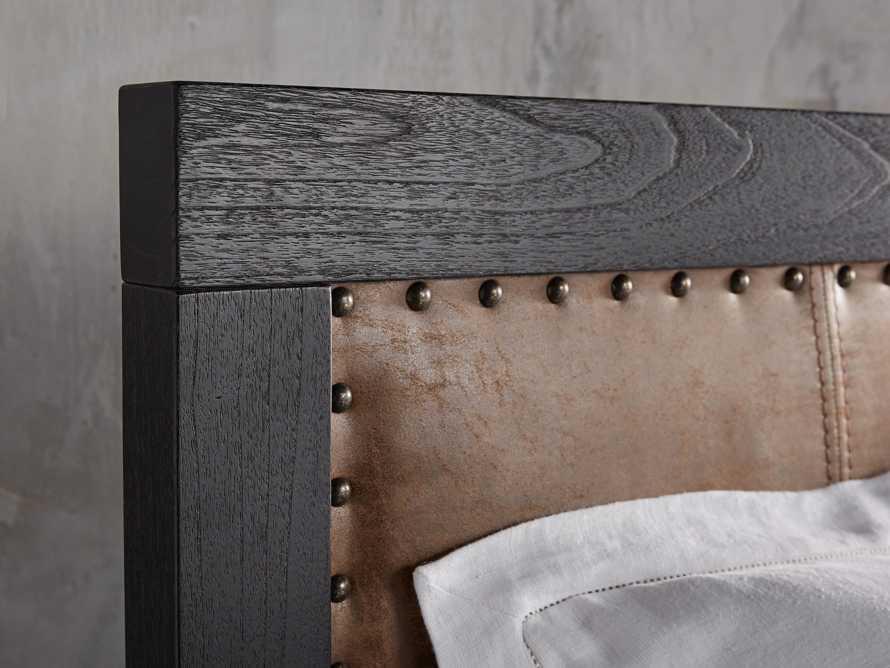 Tremont Queen Storage Bed in Dry Branch Black, slide 6 of 10