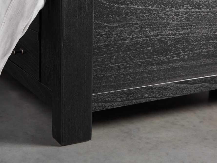 Tremont Queen Storage Bed in Dry Branch Black, slide 7 of 10