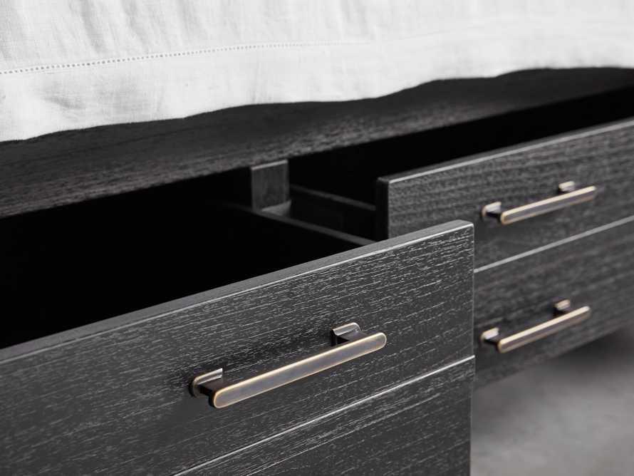 Tremont Queen Storage Bed in Dry Branch Black, slide 8 of 10