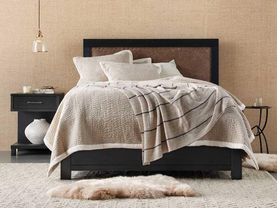 Tremont Queen Storage Bed in Dry Branch Black, slide 1 of 10