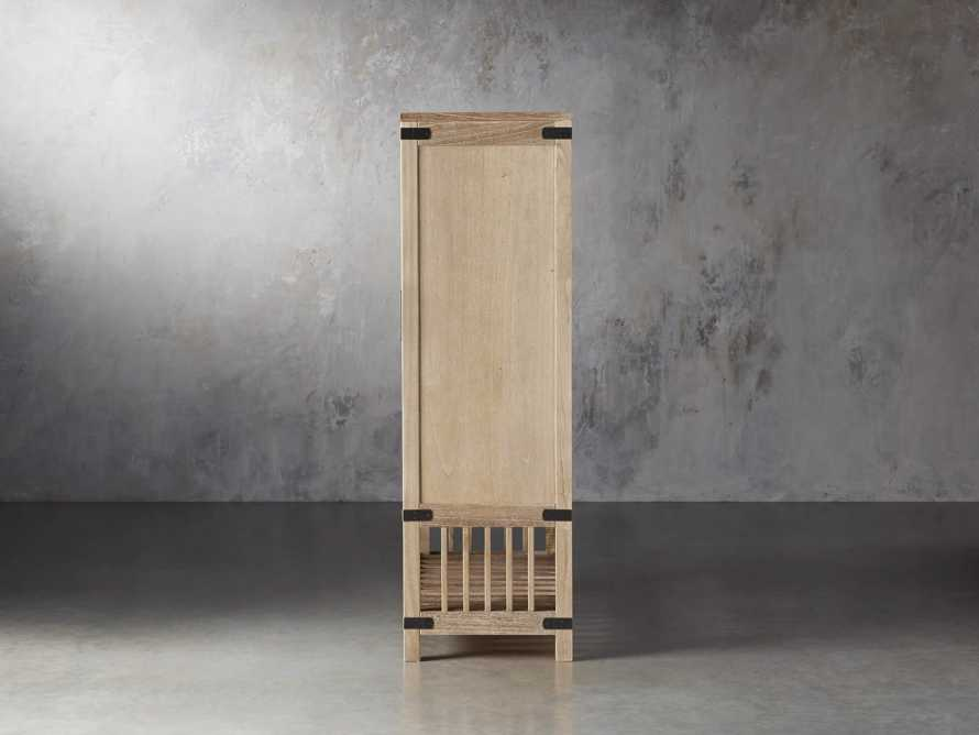 Tremont Wardrobe In Dry Branch Natural