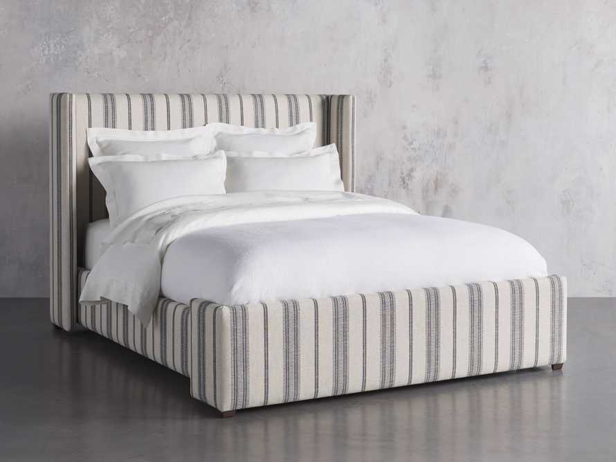 "Wyller Upholstered 52"" King Bed in Sofie Chia, slide 2 of 7"