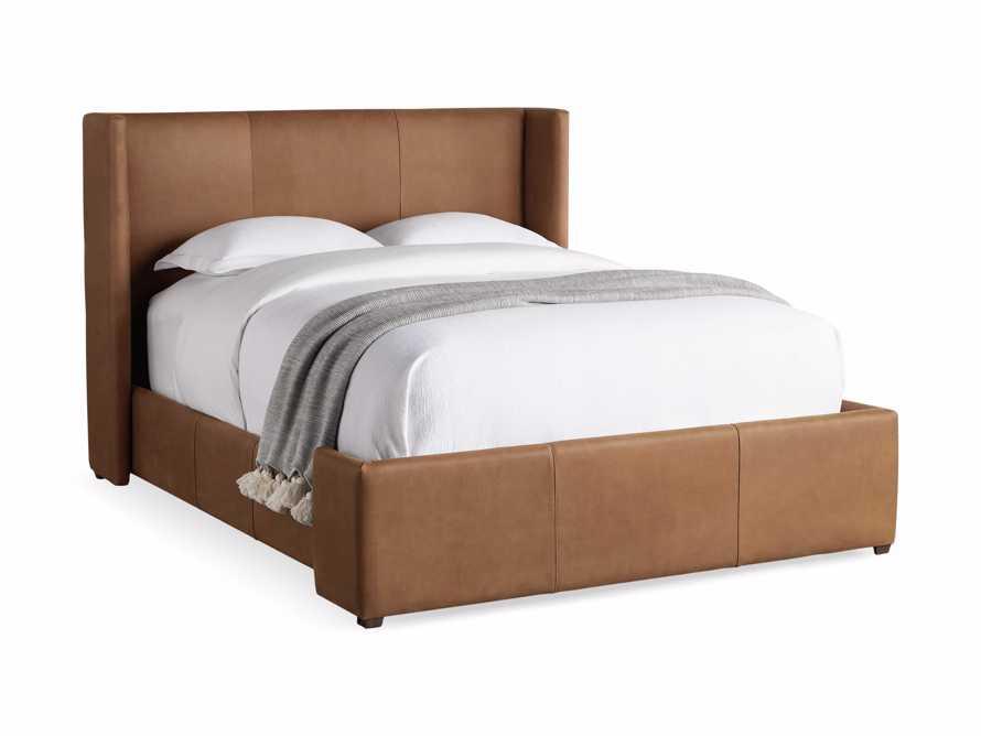 Wyller Queen Bed in Lukas Pecan, slide 7 of 8