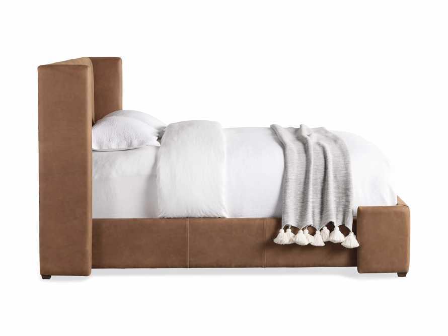 Wyller Queen Bed in Lukas Pecan, slide 8 of 8
