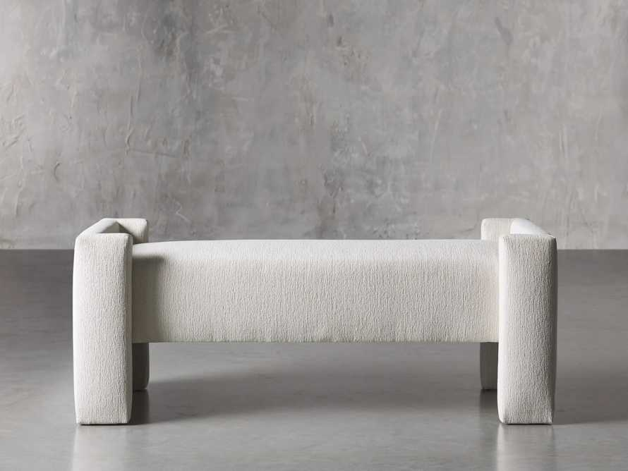 """Wyller 55"""" Bench in Tania Cashmere, slide 1 of 4"""