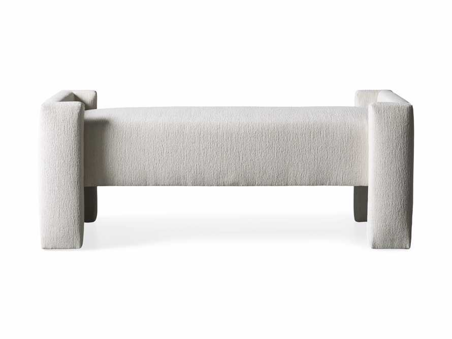 """Wyller 55"""" Bench in Tania Cashmere, slide 4 of 4"""