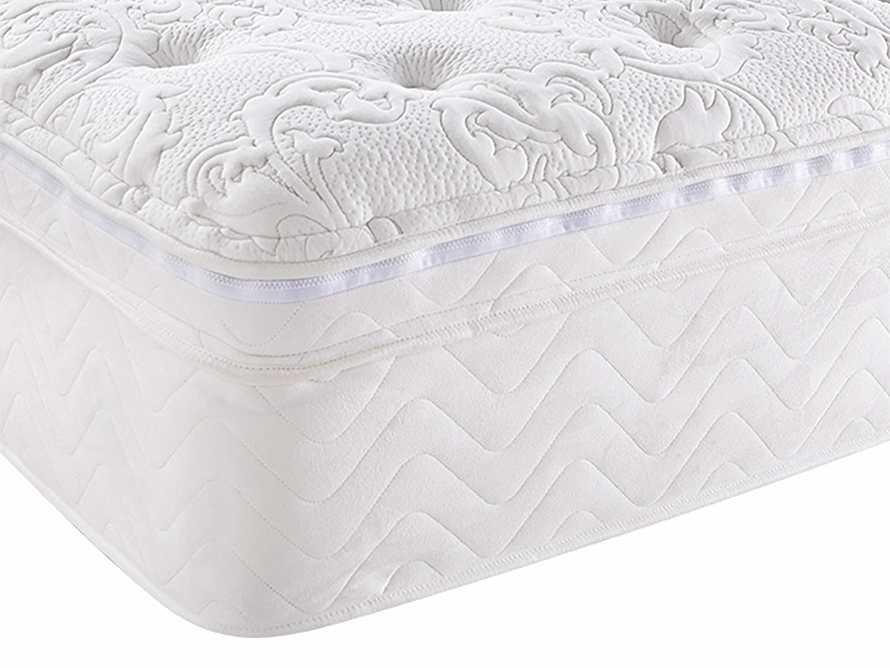 Retreat Queen Euro Top Mattress With Latex Foam Insert