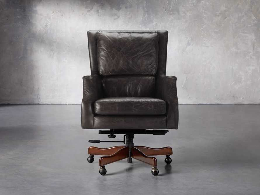 Alex Leather Desk Chair
