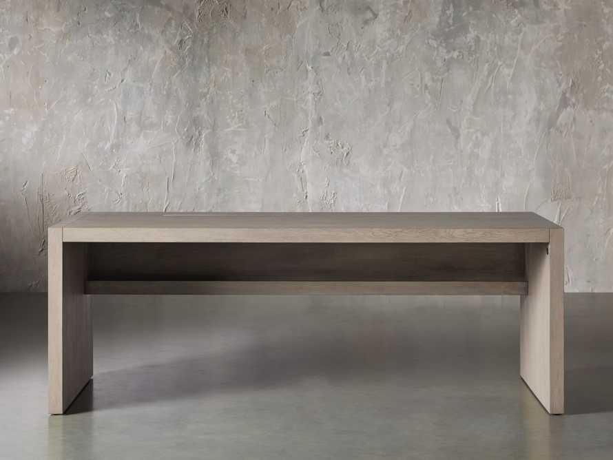 "Bodhi 83"" Modular Desk in Salvaged Grey, slide 1 of 9"