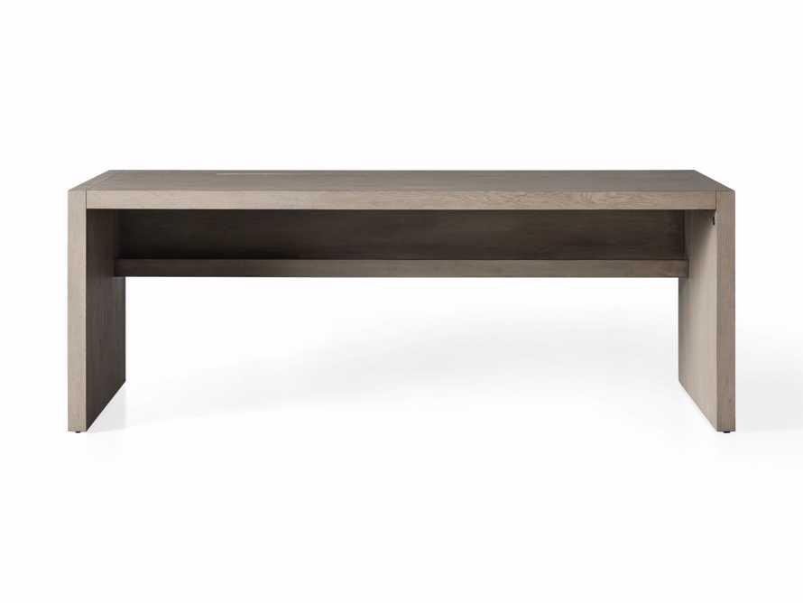 "Bodhi 83"" Modular Desk in Salvaged Grey, slide 8 of 9"