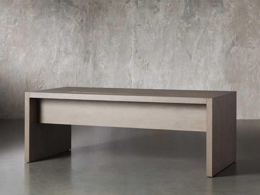 "Bodhi 83"" Modular Desk in Salvaged Grey, slide 4 of 9"