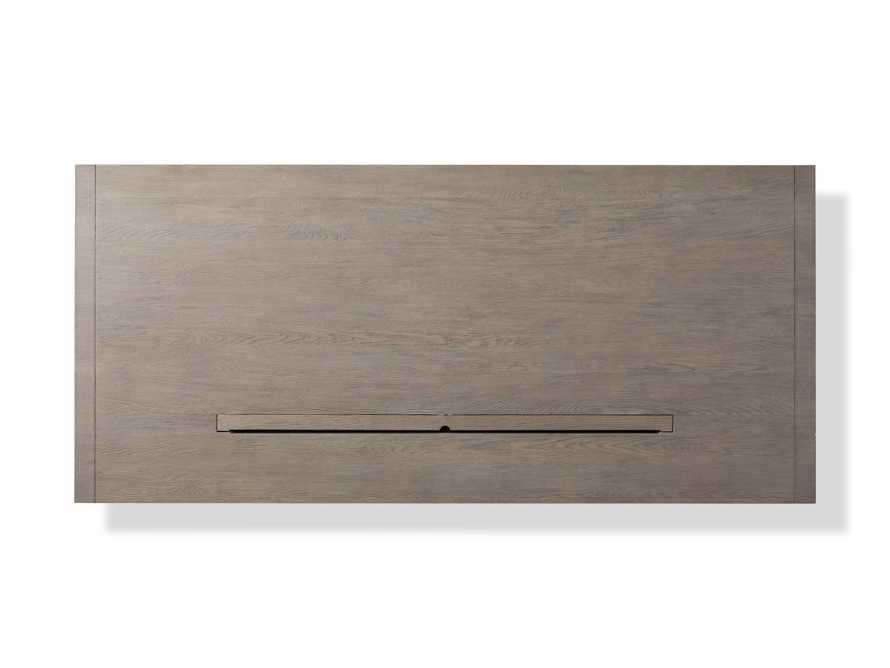 "Bodhi 83"" Modular Desk in Salvaged Grey, slide 9 of 9"