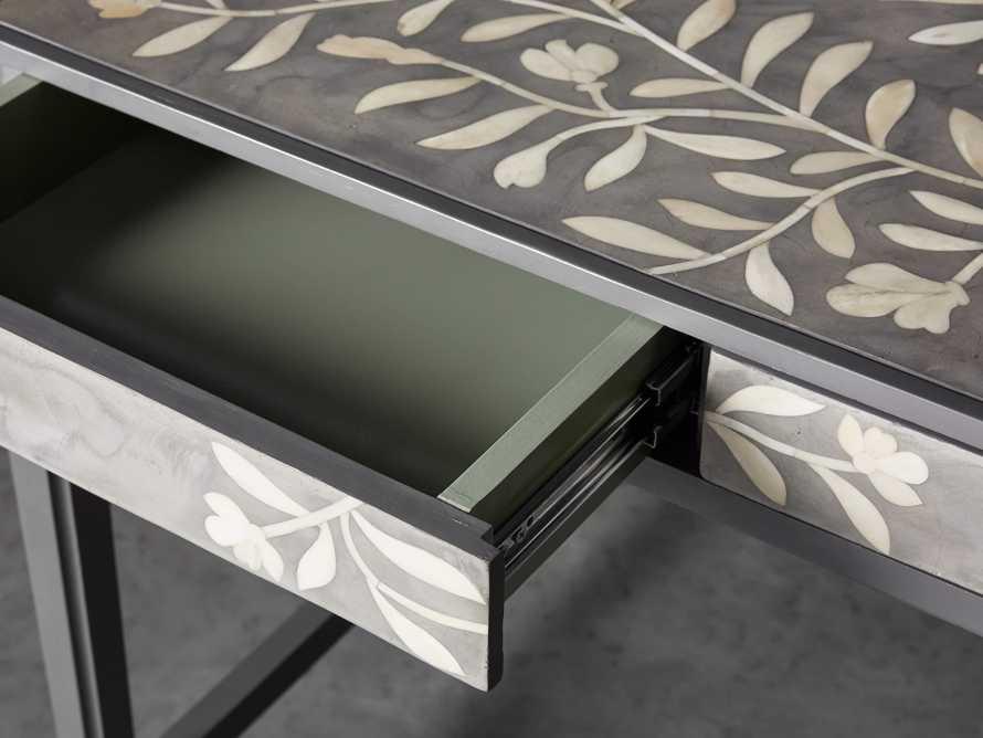 """Divya 62"""" Writing Desk in Dusk, slide 6 of 9"""