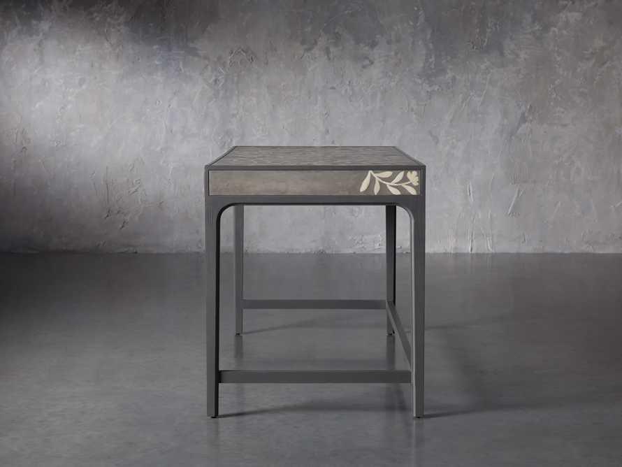 """Divya 62"""" Writing Desk in Dusk, slide 5 of 9"""