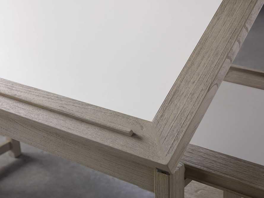 """Euclid 55"""" Executive Desk in Boulder Grey, slide 8 of 12"""