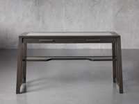 "Euclid 55"" Writing Desk in Ristretto"