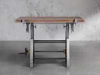 Industrial Crank Drafting table