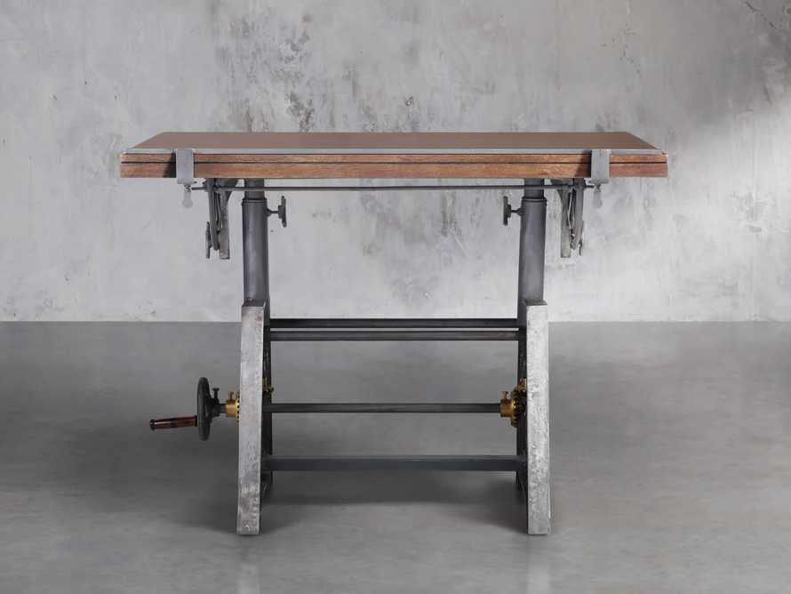 Industrial Crank Drafting table, slide 2 of 11