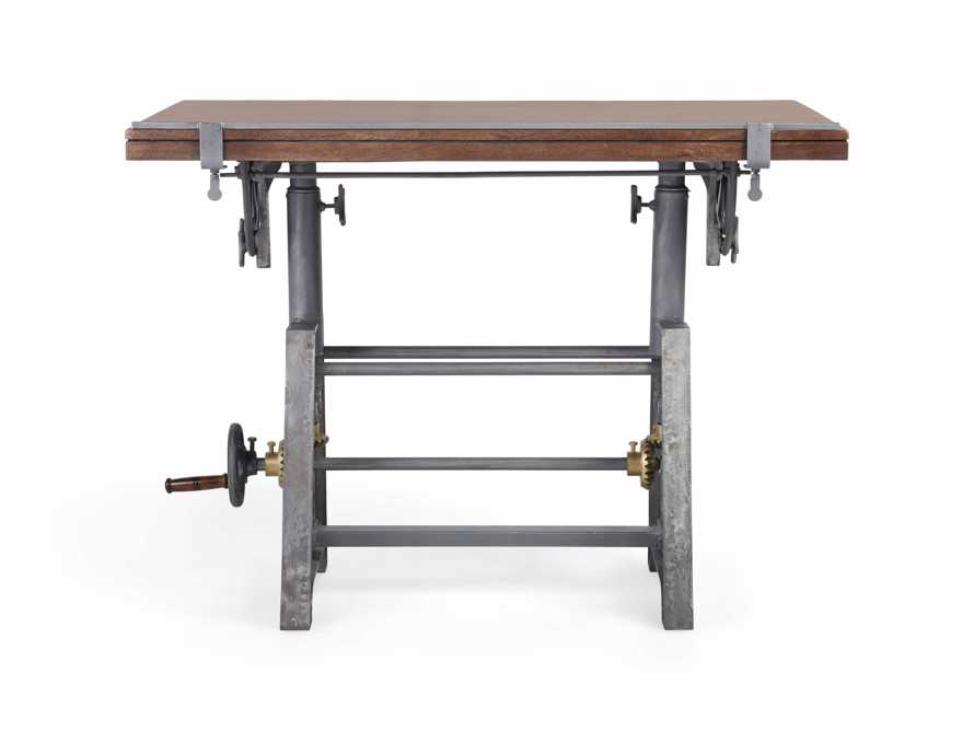 Industrial Crank Drafting table, slide 3 of 11