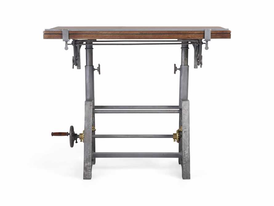 Industrial Crank Drafting table, slide 4 of 11