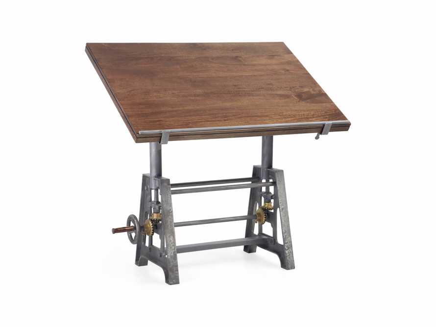 Industrial Crank Drafting table, slide 8 of 11